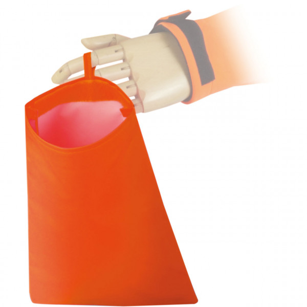 Warnwestentasche Orange Asatex
